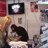 beauty expo stand