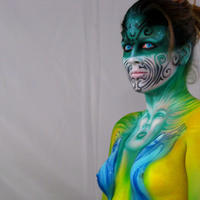 Oh baby bodypainting