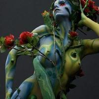 The bush bodypainting