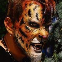 The beast facepainting