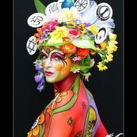 Religions and spirituality bodypainting